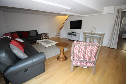 Dennis Cape Cod vacation rental - Lower Level family room