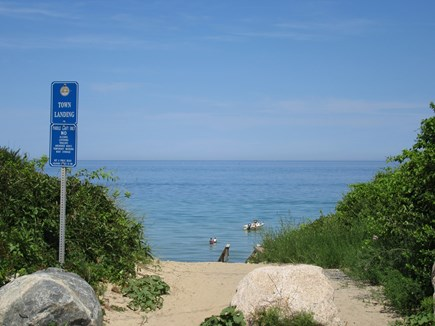 Dennis Cape Cod vacation rental - The beach access at Nobscussett Road under 1/2 mile