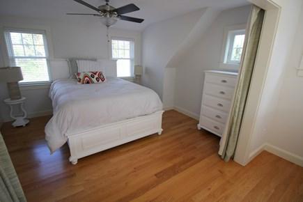 Dennis Cape Cod vacation rental - Sleep area upstairs w/curtain privacy