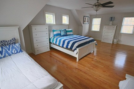 Dennis Cape Cod vacation rental - Partial view of large 2nd floor bedroom