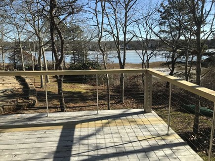 East Falmouth Cape Cod vacation rental - 2nd floor deck with view