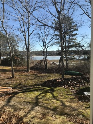 East Falmouth Cape Cod vacation rental - Yard with view