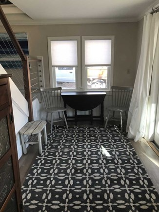 East Falmouth Cape Cod vacation rental - Breakfast Nook with sliders to 1st floor deck