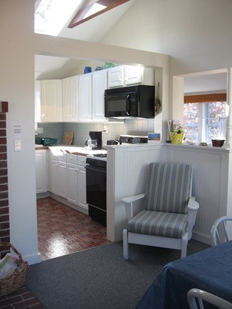 North Eastham Cape Cod vacation rental - View of dining and kitchen area.