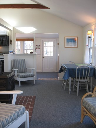 North Eastham Cape Cod vacation rental - Another view of living/dining area.
