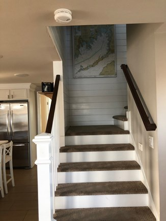 Pocasset Pocasset vacation rental - Stairs to top floor