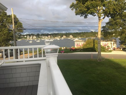 Pocasset Pocasset vacation rental - Deck view of Hen's Cove