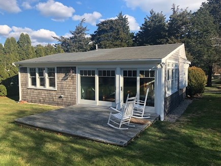 East Orleans Cape Cod vacation rental - Exterior back view