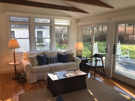 East Orleans Cape Cod vacation rental - Living area alternate view