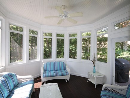 Mashpee/New Seabury New Seabury vacation rental - Screened in porch with entryway to house and outside deck