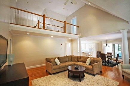 Mashpee/New Seabury New Seabury vacation rental - Open living room with view of 2nd floor and dining area