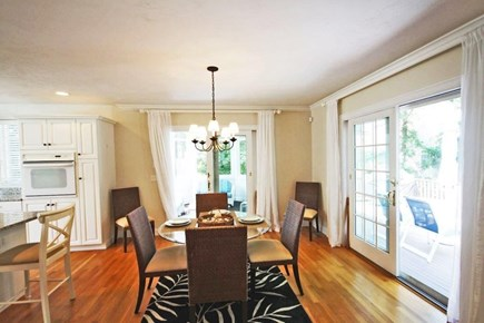 Mashpee/New Seabury New Seabury vacation rental - Dining Area with view of screened in porch and outside deck