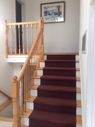 Dennis Cape Cod vacation rental - Staircase to 2nd level