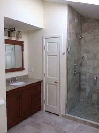 Dennis Cape Cod vacation rental - Master bathroom vanity