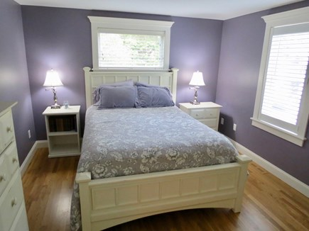 Orleans Cape Cod vacation rental - Queen BR, leeward house.  There's a third BR upstairs with a king