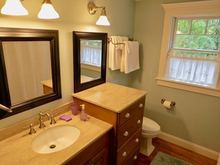 Orleans Cape Cod vacation rental - Full bath leeward house.6.5 baths total in the two houses.