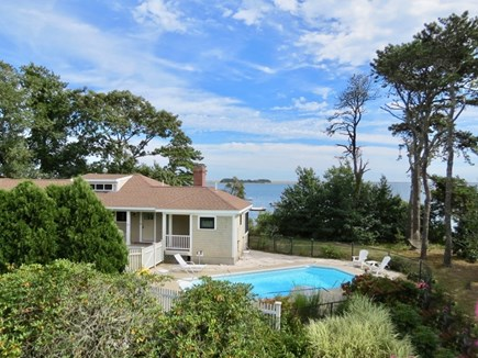Orleans Cape Cod vacation rental - How about a two-house estate with a pool right on Pleasant Bay?