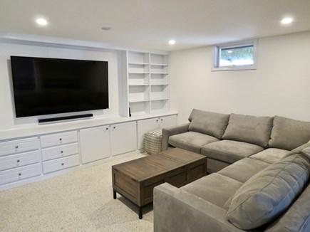 Orleans Cape Cod vacation rental - Leeward house media room, lower level