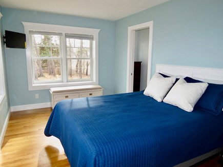 Orleans Cape Cod vacation rental - Queen master, one of three BRs in the windward house