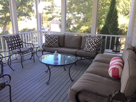 Orleans Cape Cod vacation rental - Screened in porch makes ideal outdoor living space.
