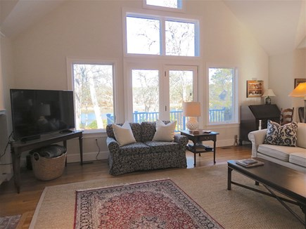 Orleans Cape Cod vacation rental - Big, cheery great room with window wall.