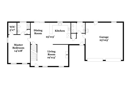 Chatham Cape Cod vacation rental - Main level floorplan