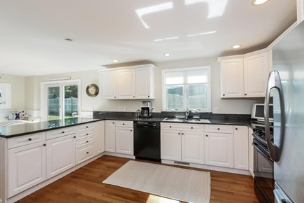 Chatham Cape Cod vacation rental - Cheery, open social kitchen is completely outfitted.