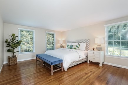 Chatham Cape Cod vacation rental - Main level master bedroom with king size bed