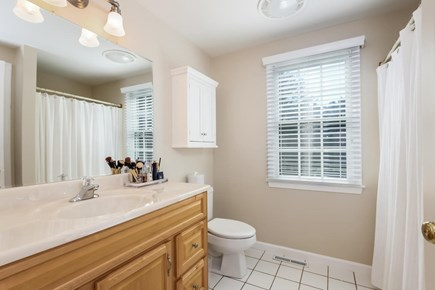 Chatham Cape Cod vacation rental - Master bath.  There are 2.5 baths total.