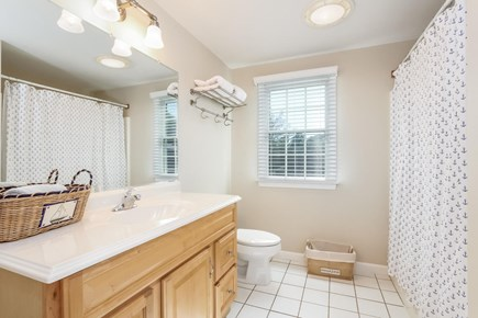 Chatham Cape Cod vacation rental - Upstairs shared full bath.