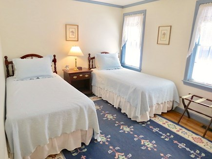 Orleans Cape Cod vacation rental - Main floor bedroom #2 has twin beds