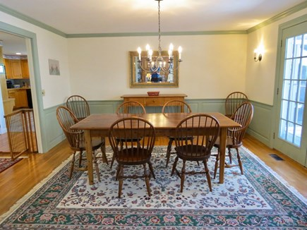 Orleans Cape Cod vacation rental - Spacious, comfortable dining room.