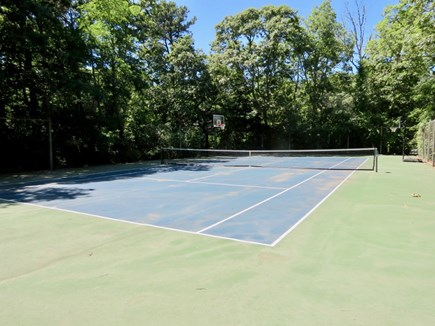 Orleans Cape Cod vacation rental - Private tennis and basketball courts.