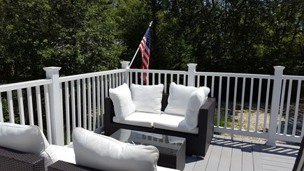 Yarmouth Cape Cod vacation rental - Upstairs Deck