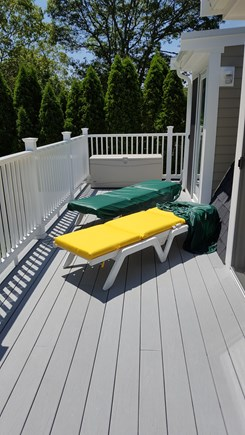 Yarmouth Cape Cod vacation rental - Sunny Upstairs Deck