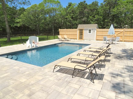 Brewster Cape Cod vacation rental - Kids will love the pool and poolside basketball
