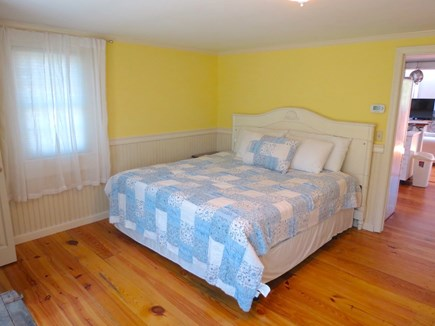 Brewster Cape Cod vacation rental - King bedroom in main cottage