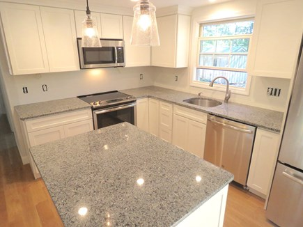 Brewster Cape Cod vacation rental - Kitchen is shiny new and fully equipped.