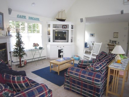 Orleans Cape Cod vacation rental - Living Room Area Alternate view