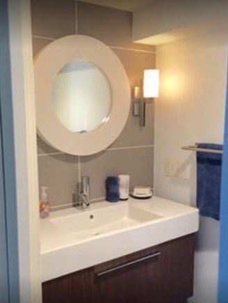 Chatham Cape Cod vacation rental - Downstairs updated bathroom with large shower.