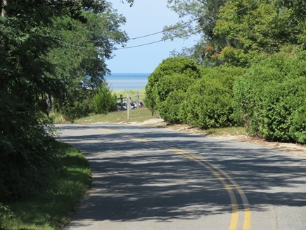 Brewster Cape Cod vacation rental - The view from in front of the house to the Bay
