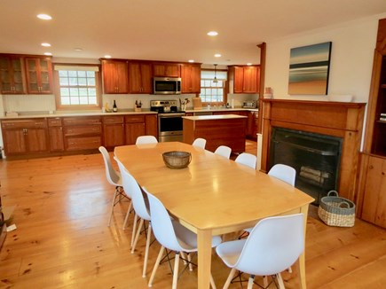 Brewster Cape Cod vacation rental - Large dining area is open to the kitchen