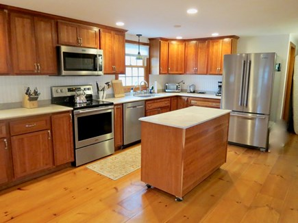 Brewster Cape Cod vacation rental - Open, social, fully equipped kitchen