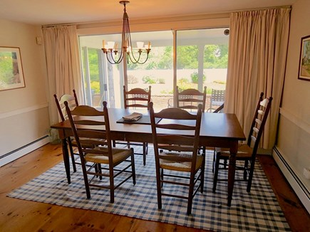 Chatham Cape Cod vacation rental - Main house dining area