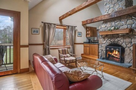 Centerville Centerville vacation rental - Comfy in front of the fire.