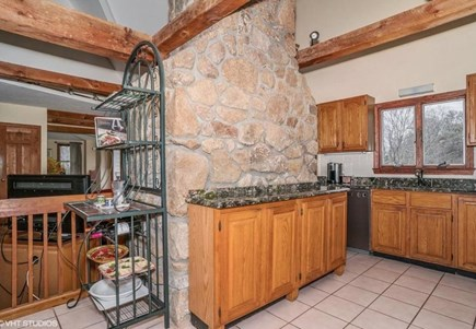 Centerville Centerville vacation rental - Large kitchen with granite countertops.