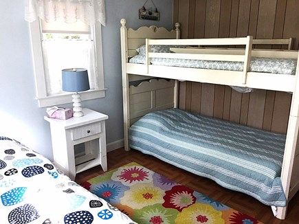 West Dennis Cape Cod vacation rental - Guest bedroom bunk beds