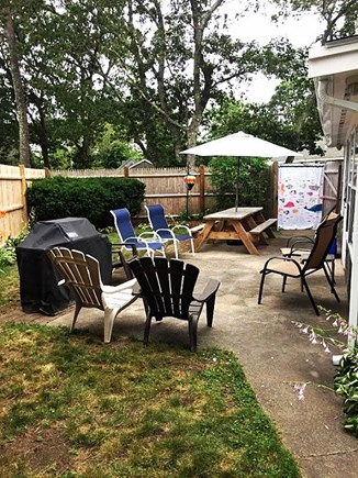West Dennis Cape Cod vacation rental - Backyard patio