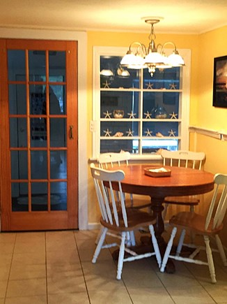 West Dennis Cape Cod vacation rental - Eat in Kitchen