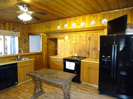 Wellfleet Cape Cod vacation rental - New Kitchen with new flooring, appliances